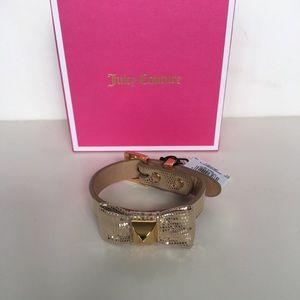 Juicy Couture Metallic Bow Bracelet
